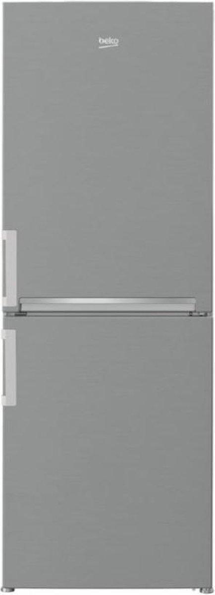 Beko CSA240K31SN koel-vriescombinatie Vrijstaand Zilver 232 l