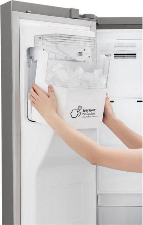 Topsellers.be LG GSL760PZXV A+ Amerikaanse koelkast ijsblokjes