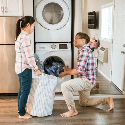 wassen en drogen zijn een gezins aangelegenheid daarom hebben wasmachines end droogkasten voor iederen