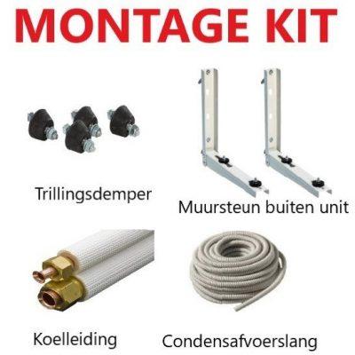 M233 - 3m montage kit voor airco's 9000btu & 12000btu