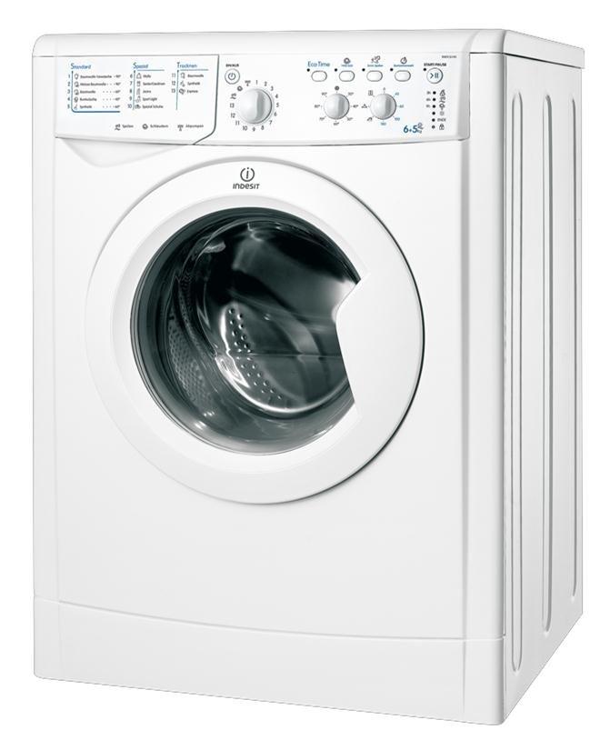Indesit IWDC 6145 wasmachine en droogkast in een