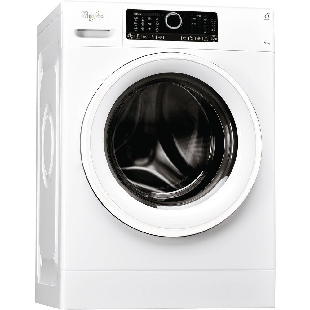 Whirlpool FSCR 90412 wasmachine Vrijstaand Voorbelading 9 kg 1400 RPM Wit